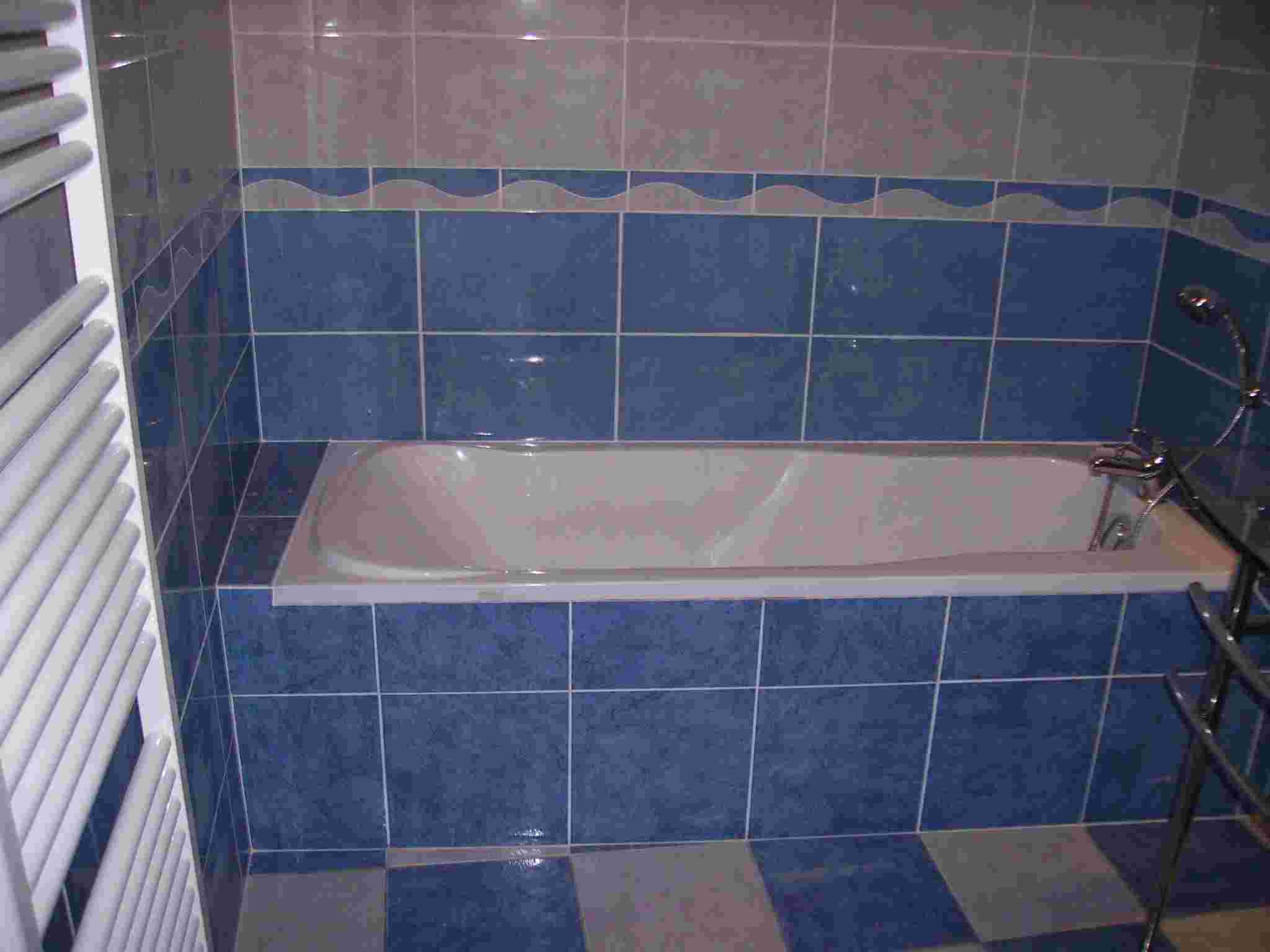 Document sans nom for Salle bain bleu